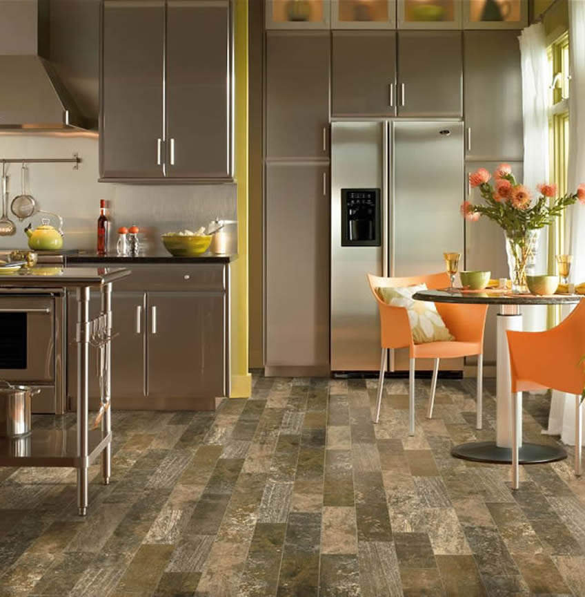 Vinyl sheet flooring company great american floors for Great american flooring